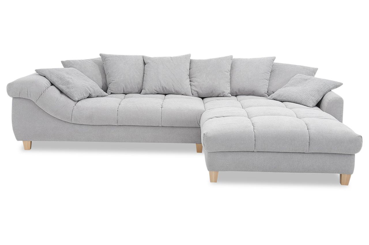 ecksofa montana grau neu sofas zum halben preis. Black Bedroom Furniture Sets. Home Design Ideas