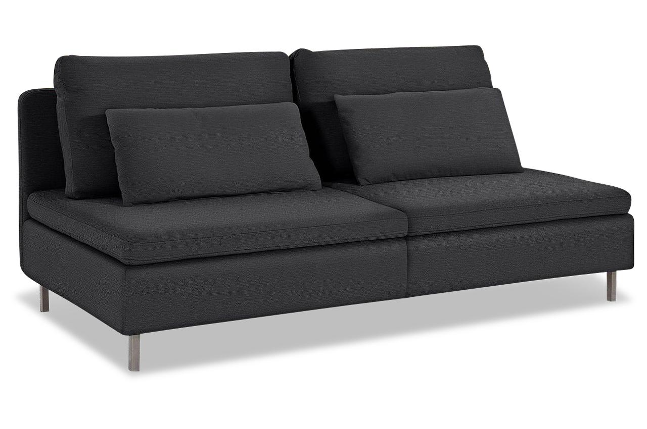 3er sofa anthrazit sofas zum halben preis. Black Bedroom Furniture Sets. Home Design Ideas