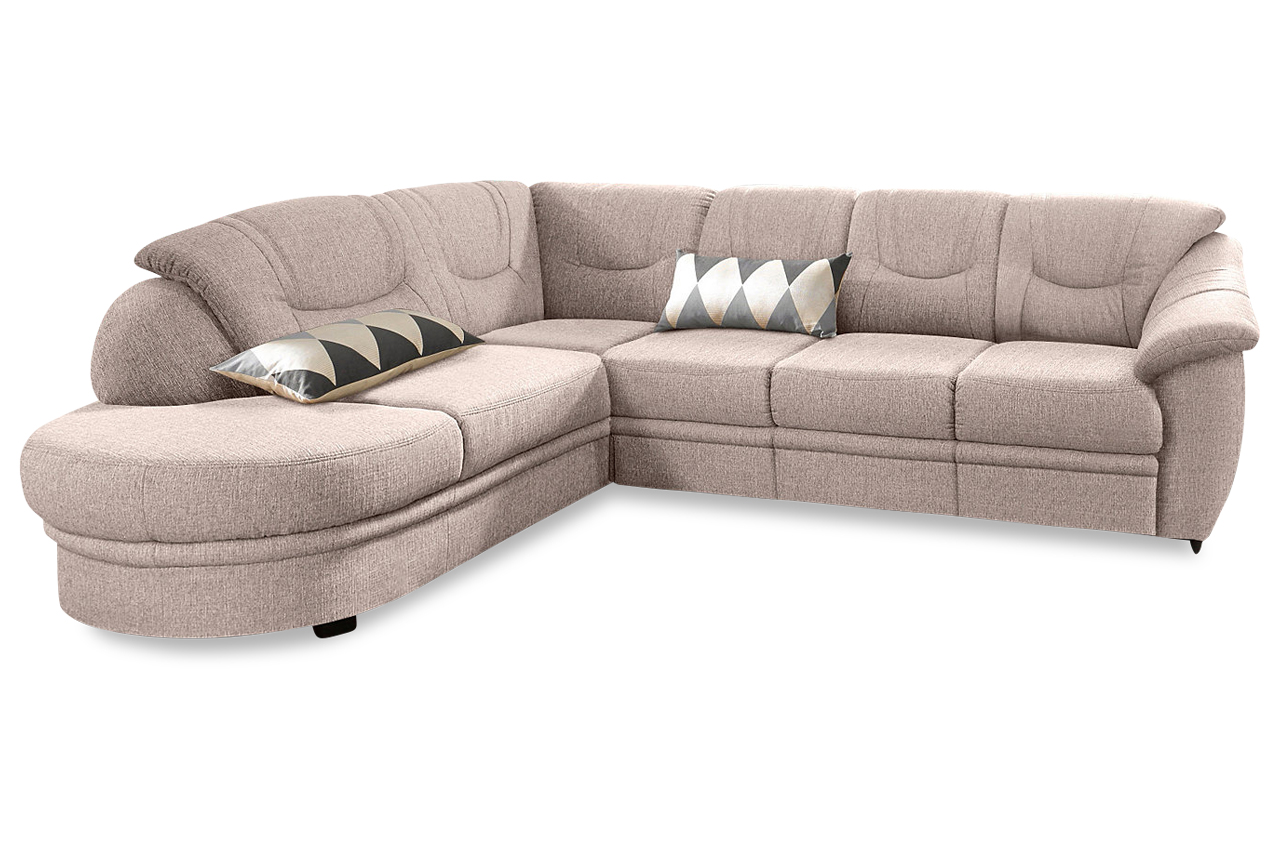 sit more ecksofa xl savoni creme mit federkern sofas zum halben preis. Black Bedroom Furniture Sets. Home Design Ideas