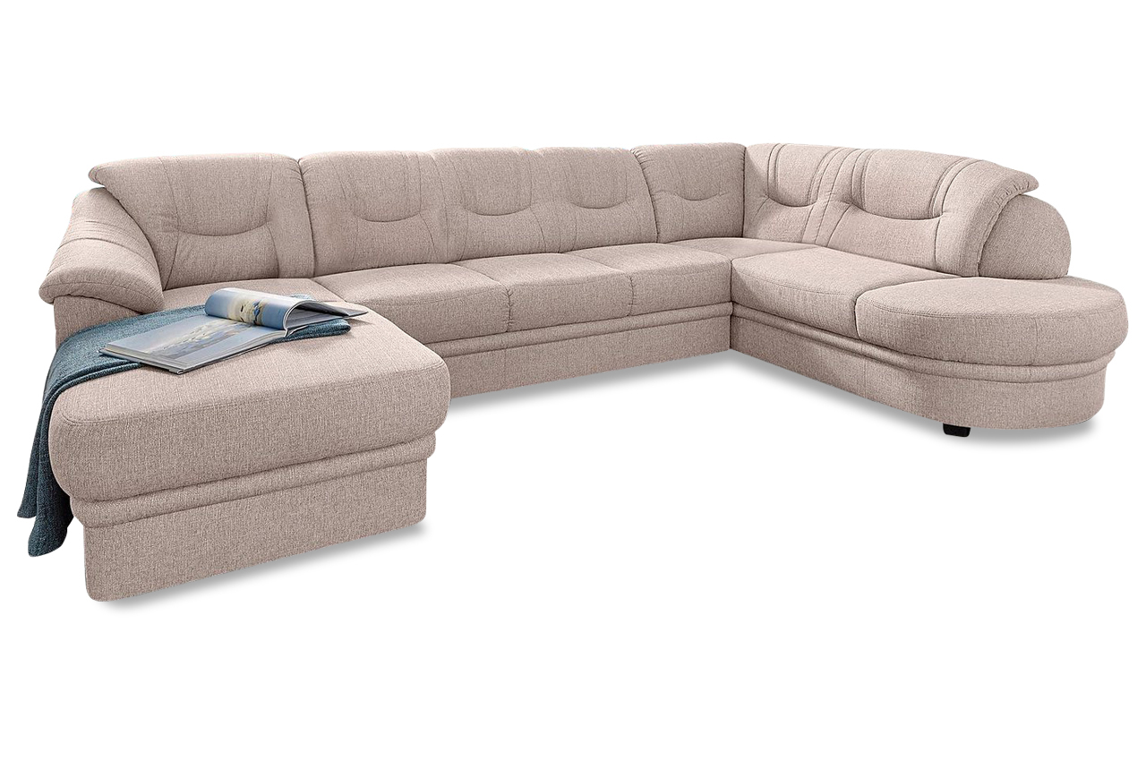 wohnlandschaft braun mit federkern sofas zum halben preis. Black Bedroom Furniture Sets. Home Design Ideas