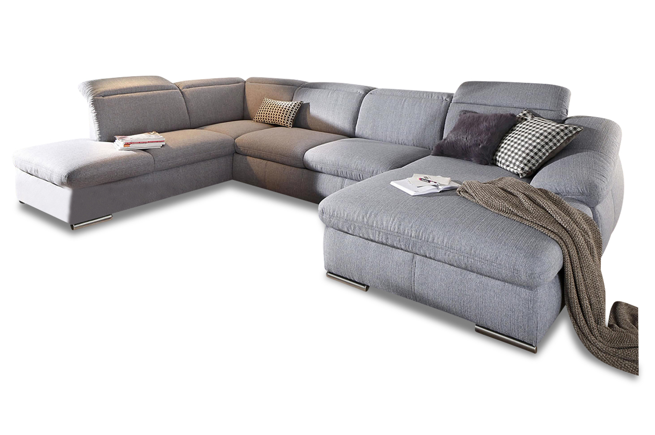 sit more wohnlandschaft marilyn mit bett sofas zum. Black Bedroom Furniture Sets. Home Design Ideas