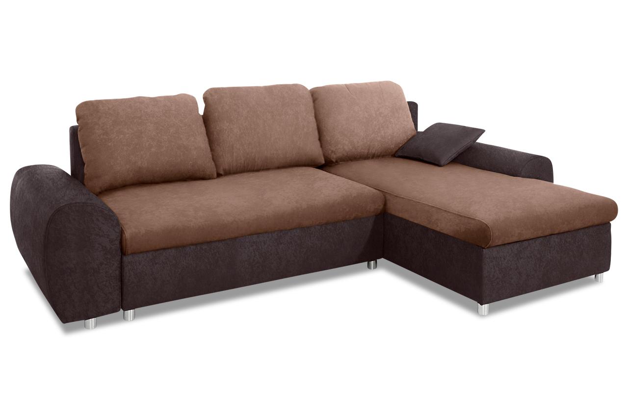 Sit more polsterecke desperado sofas zum halben preis for Braunes ecksofa