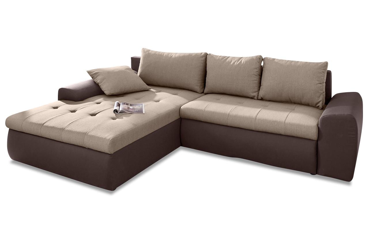 ecksofa braun sofas zum halben preis. Black Bedroom Furniture Sets. Home Design Ideas