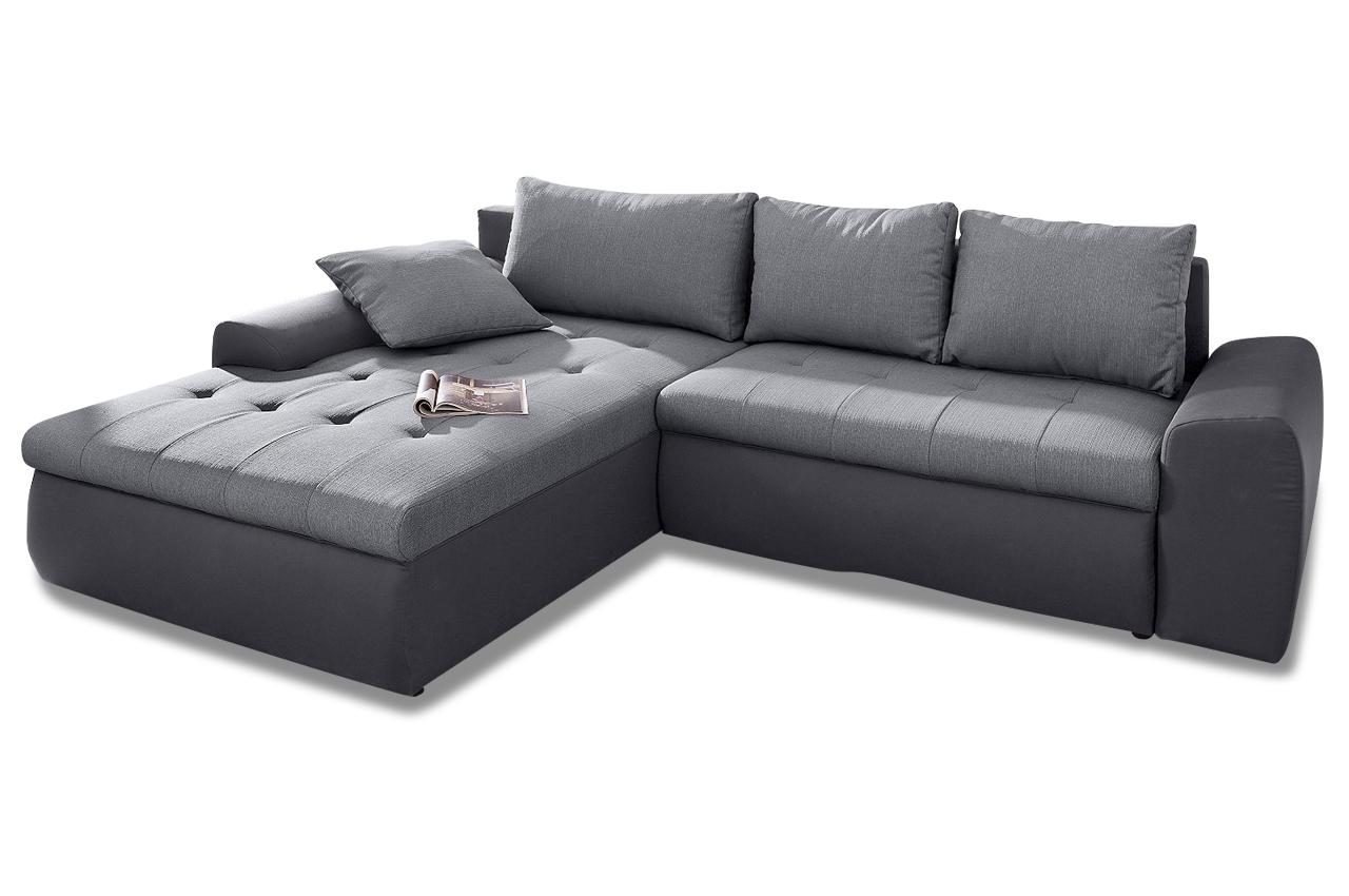 Sit more polsterecke celine xxl mit bett stoff sofa for Sofa bett kombination