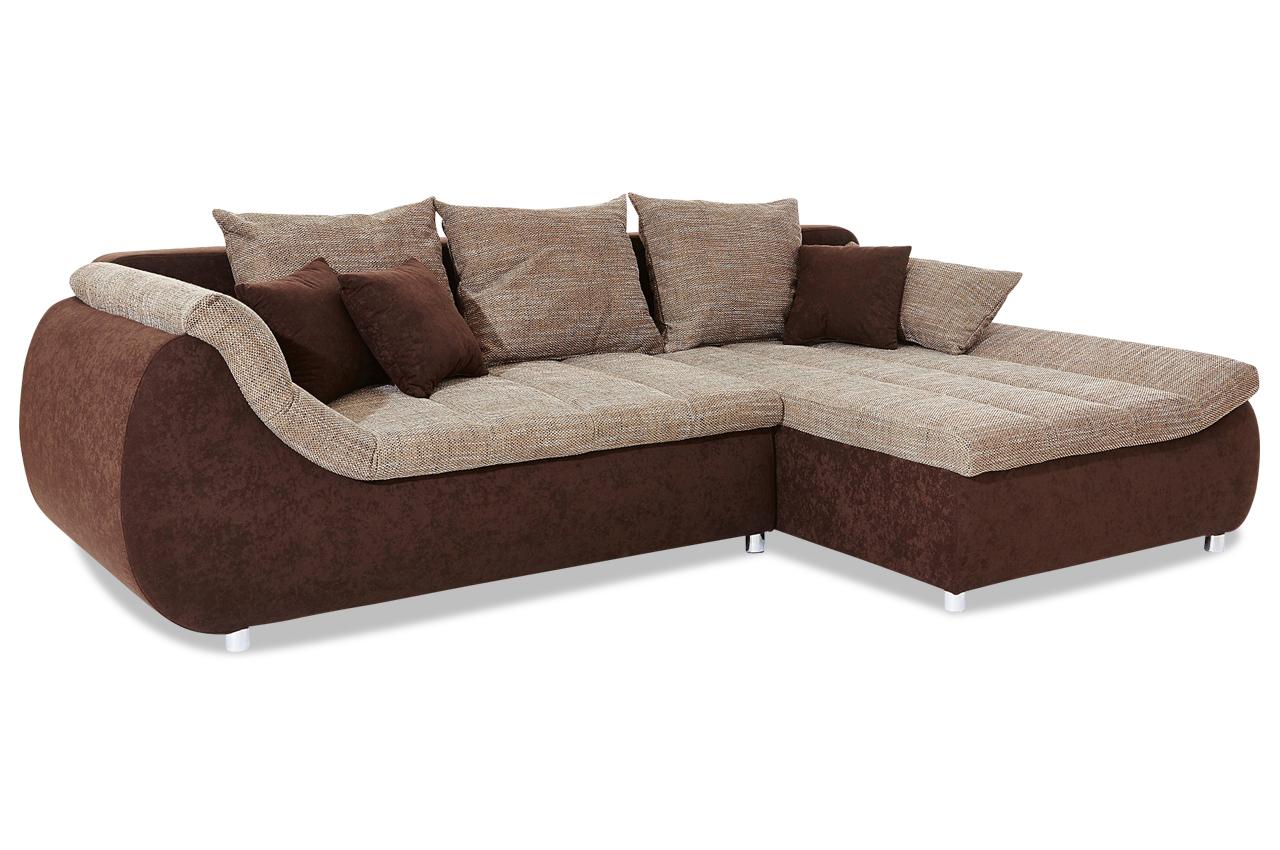 ecksofa imola braun sofas zum halben preis. Black Bedroom Furniture Sets. Home Design Ideas