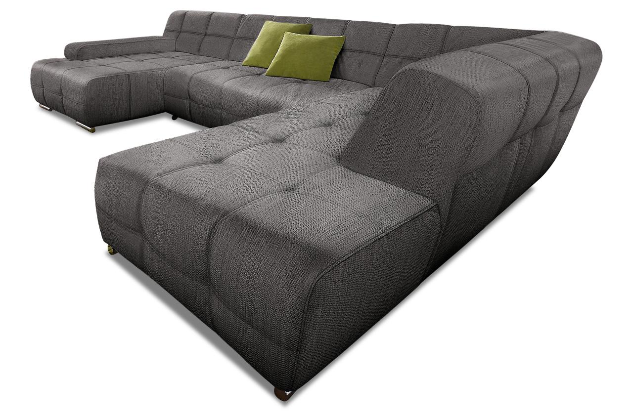 Sit more xxl wohnlandschaft boogie sofas zum halben preis for Braune wohnlandschaft