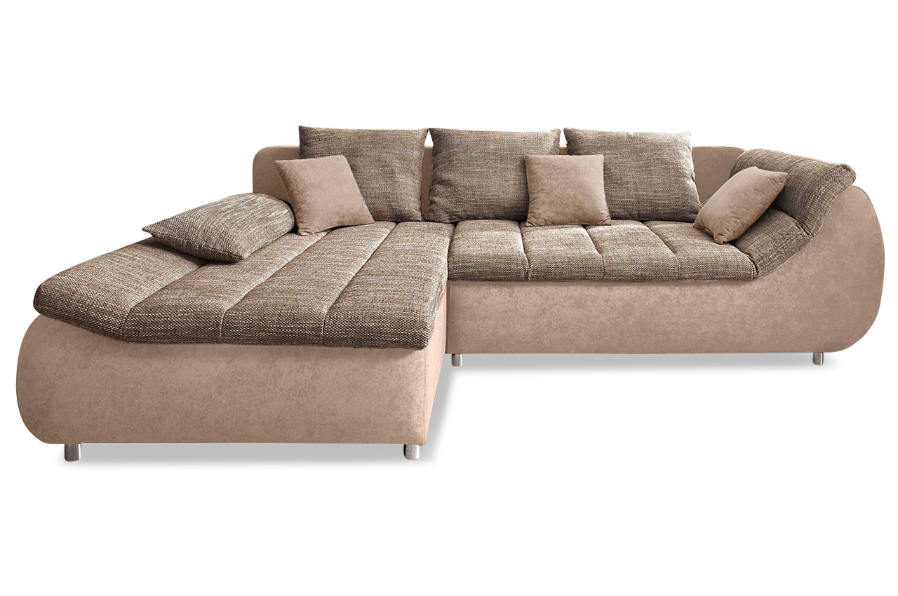 ecksofa imola creme sofas zum halben preis. Black Bedroom Furniture Sets. Home Design Ideas