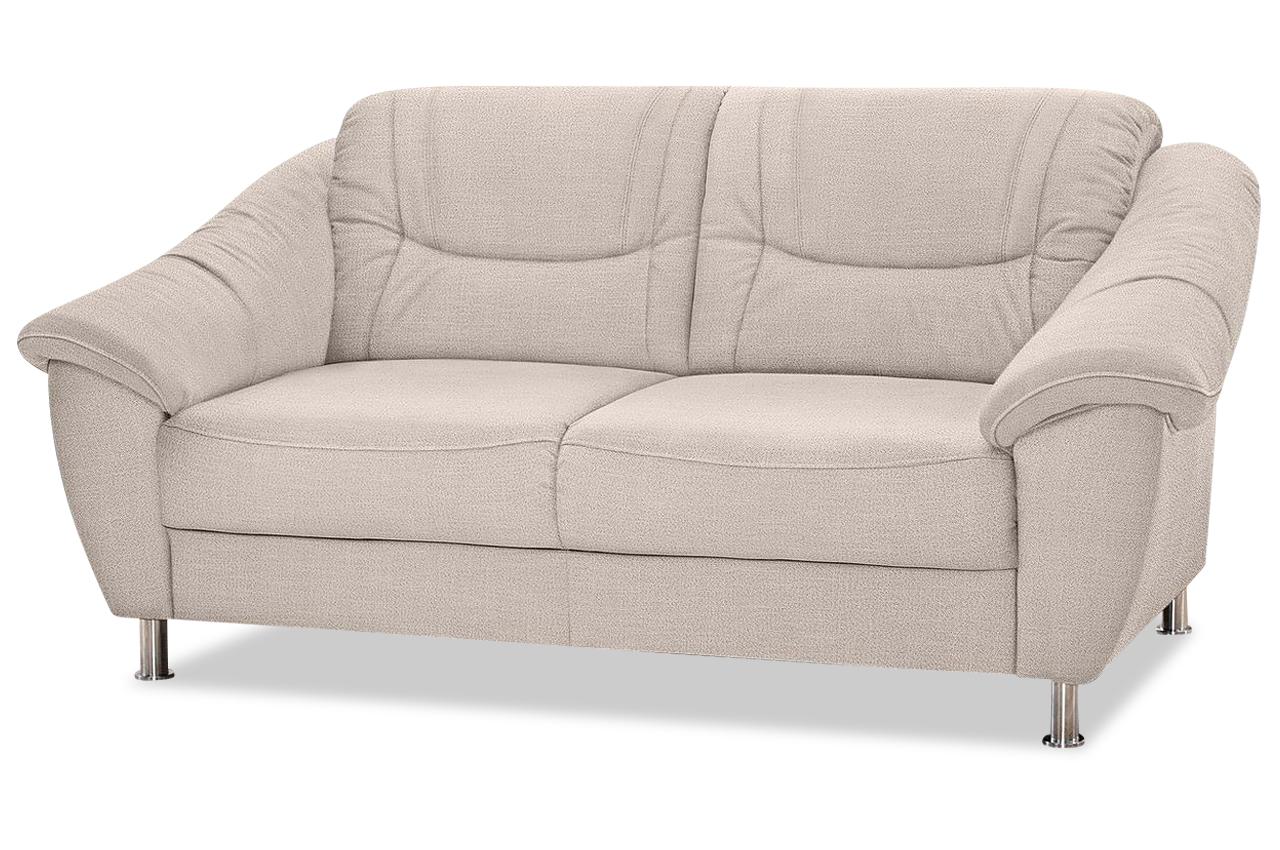 2er sofa creme mit federkern sofas zum halben preis. Black Bedroom Furniture Sets. Home Design Ideas