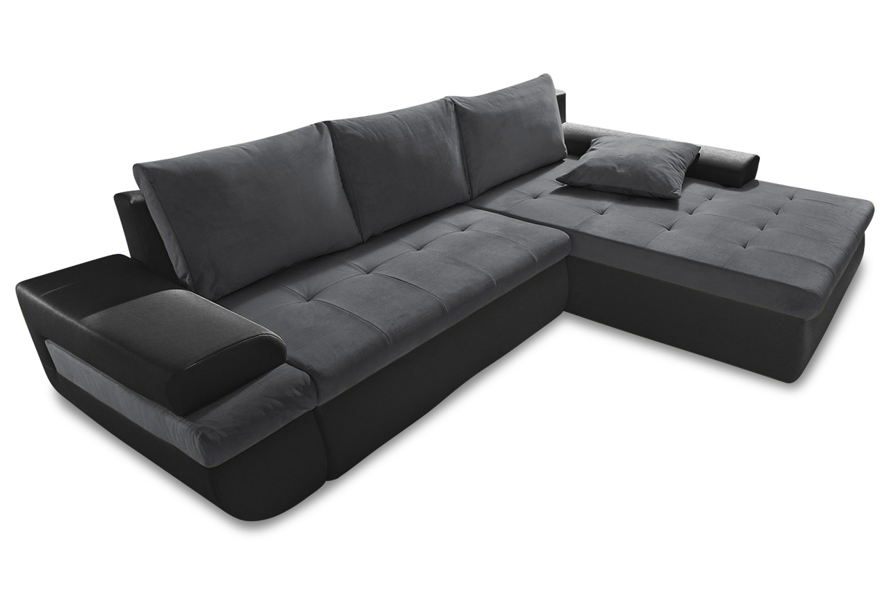 ecksofa caramba xl schwarz sofas zum halben preis. Black Bedroom Furniture Sets. Home Design Ideas
