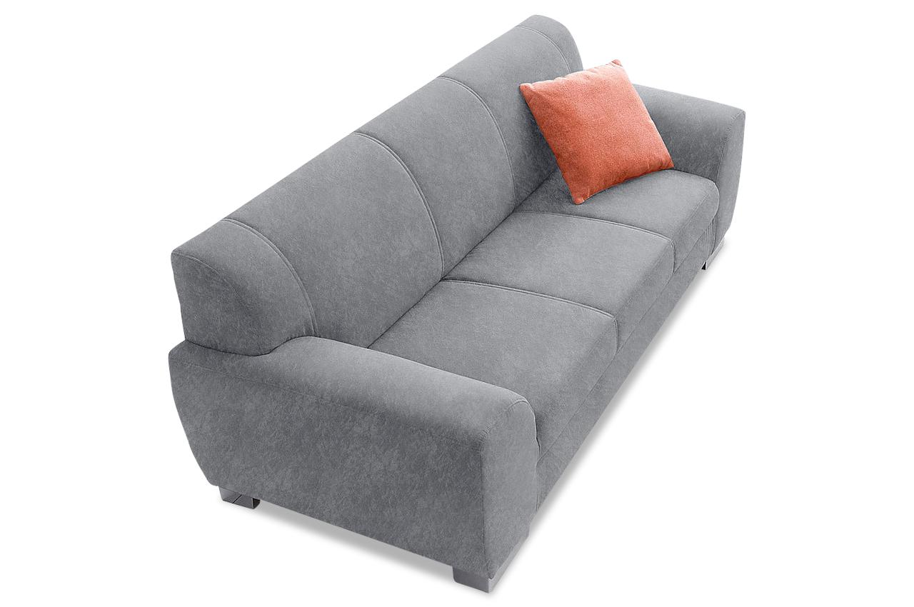 2er sofa coby grau sofas zum halben preis. Black Bedroom Furniture Sets. Home Design Ideas
