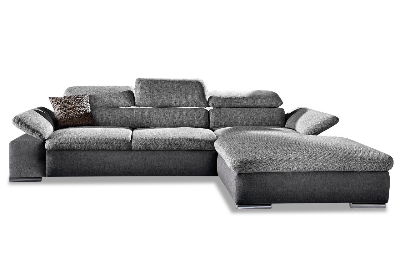 ecksofa alcudia grau sofas zum halben preis. Black Bedroom Furniture Sets. Home Design Ideas