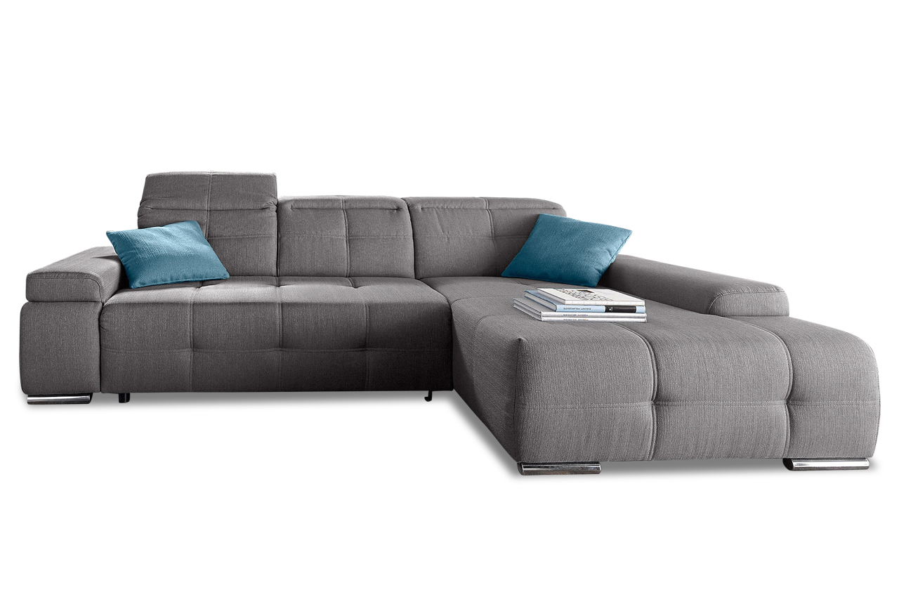 ecksofa mistral grau sofas zum halben preis. Black Bedroom Furniture Sets. Home Design Ideas