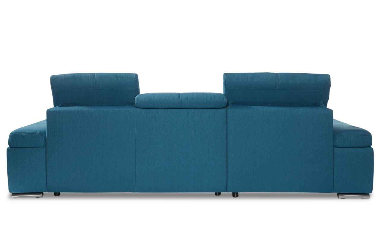ecksofa mit schlaffunktion petrol. Black Bedroom Furniture Sets. Home Design Ideas