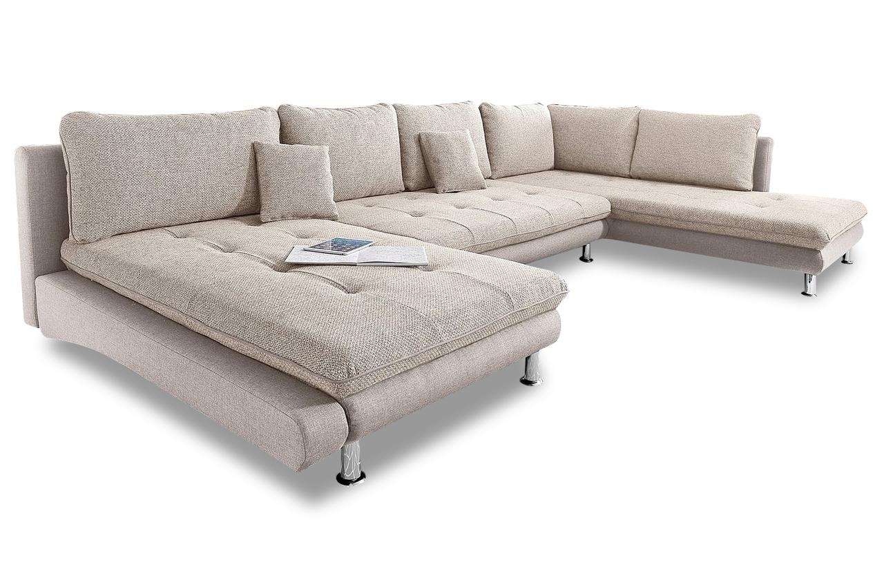 Sit more wohnlandschaft lounge mit schlaffunktion for Wohnlandschaft ebay