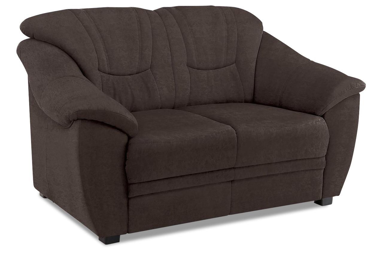 2er sofa braun mit federkern sofas zum halben preis. Black Bedroom Furniture Sets. Home Design Ideas