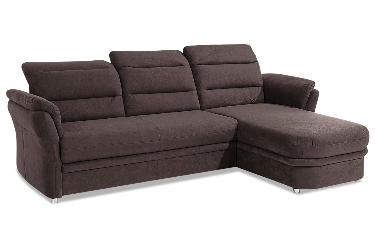 Ecksofa bentley braun sofa couch ecksofa ebay for Ecksofa ebay