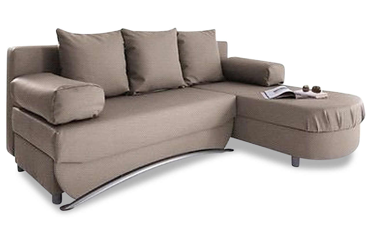 sit more ecksofa fido mit schlaffunktion creme sofas. Black Bedroom Furniture Sets. Home Design Ideas