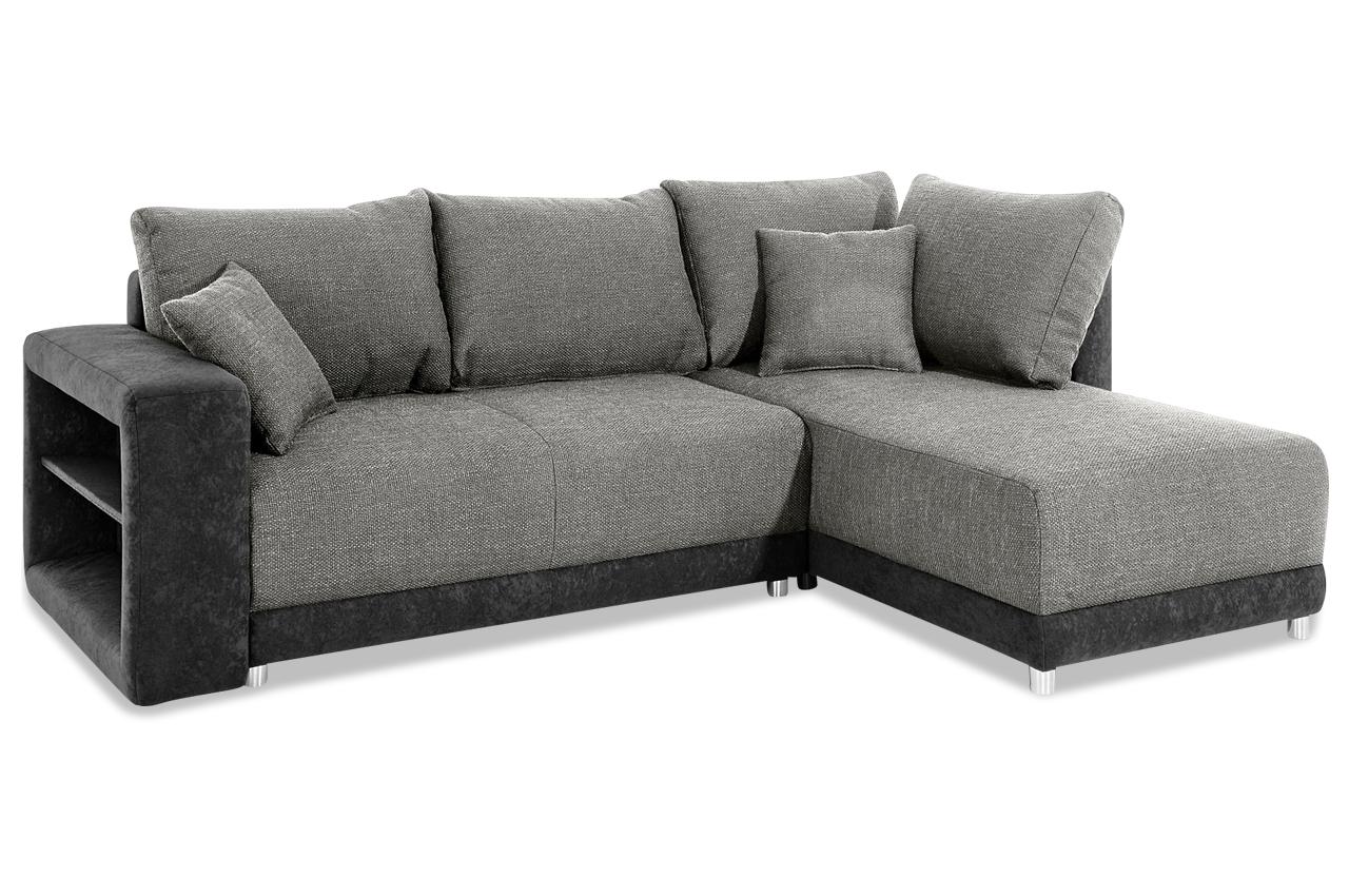 Ecksofa arriba anthrazit sofa couch ecksofa ebay for Ecksofa ebay