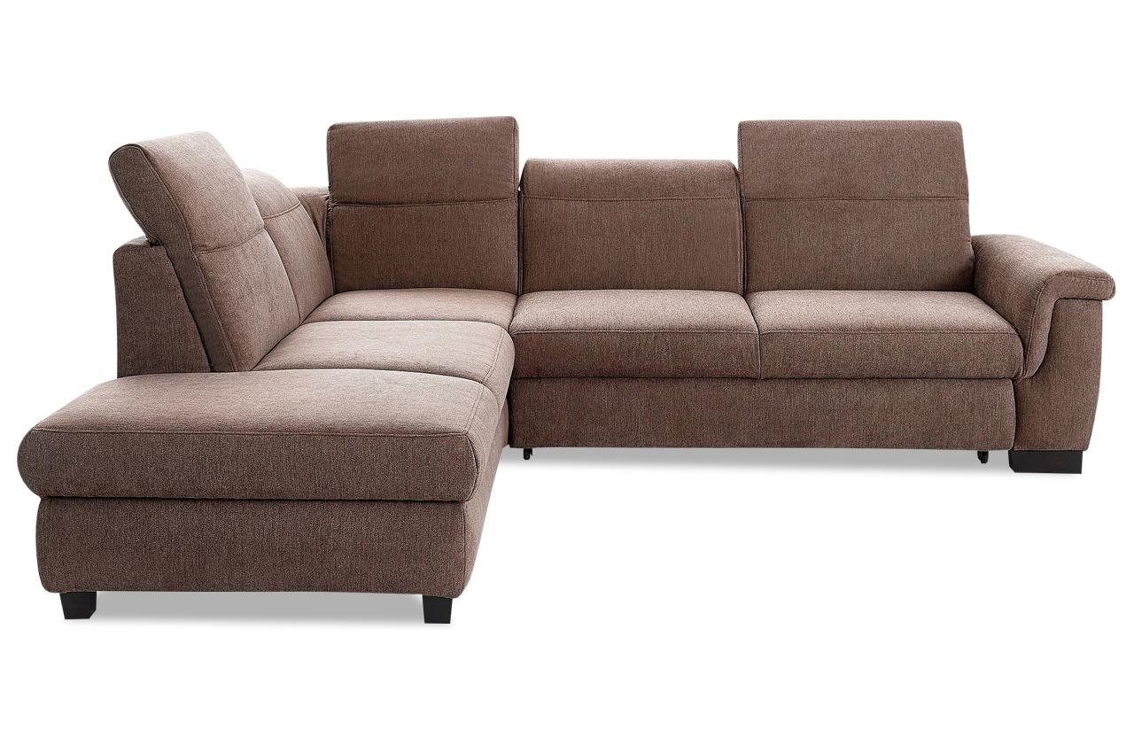 ecksofa xl sully links braun sofas zum halben preis