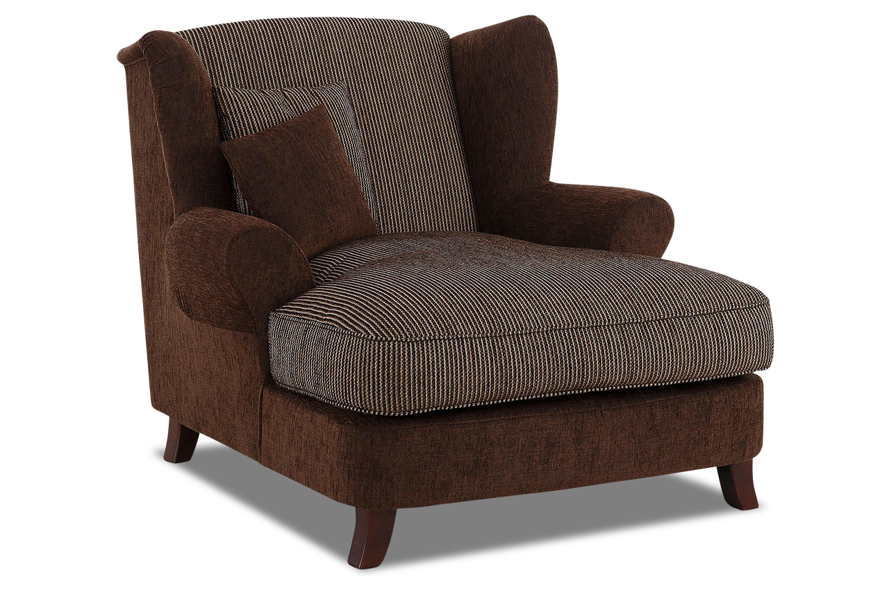 bigsessel xxl calia braun sofa couch ecksofa ebay. Black Bedroom Furniture Sets. Home Design Ideas