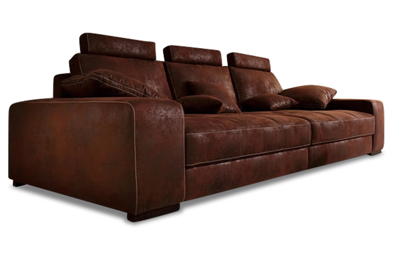 bigsofa diabolo mit kopffunktion sofas zum halben preis. Black Bedroom Furniture Sets. Home Design Ideas