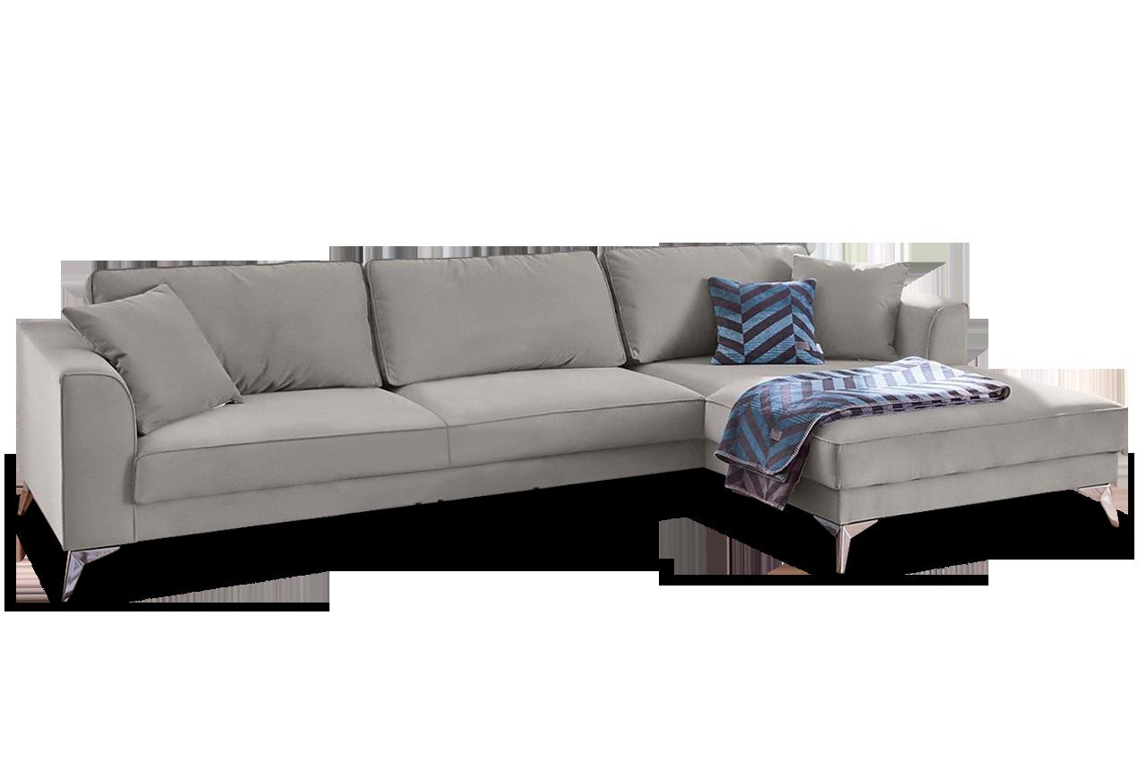 Ecksofa laura grau sofas zum halben preis for Schlafsofa laura