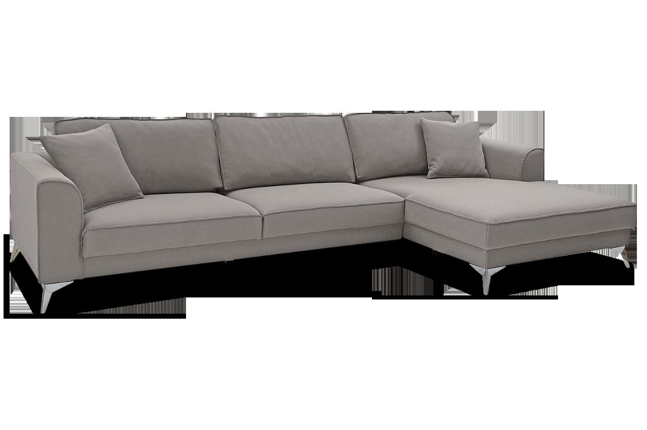 Ecksofa laura grau sofas zum halben preis for Ecksofa trends