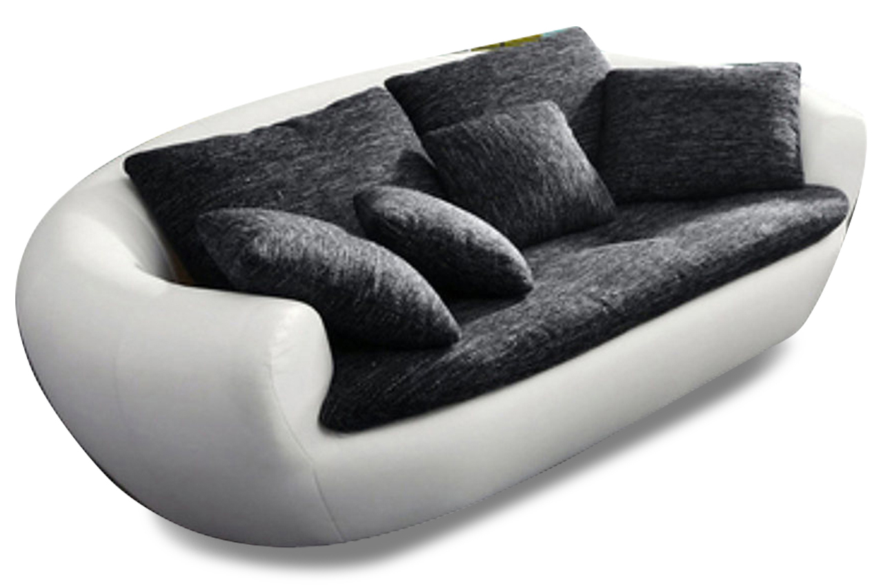 2er sofa lagoon weiss sofas zum halben preis. Black Bedroom Furniture Sets. Home Design Ideas