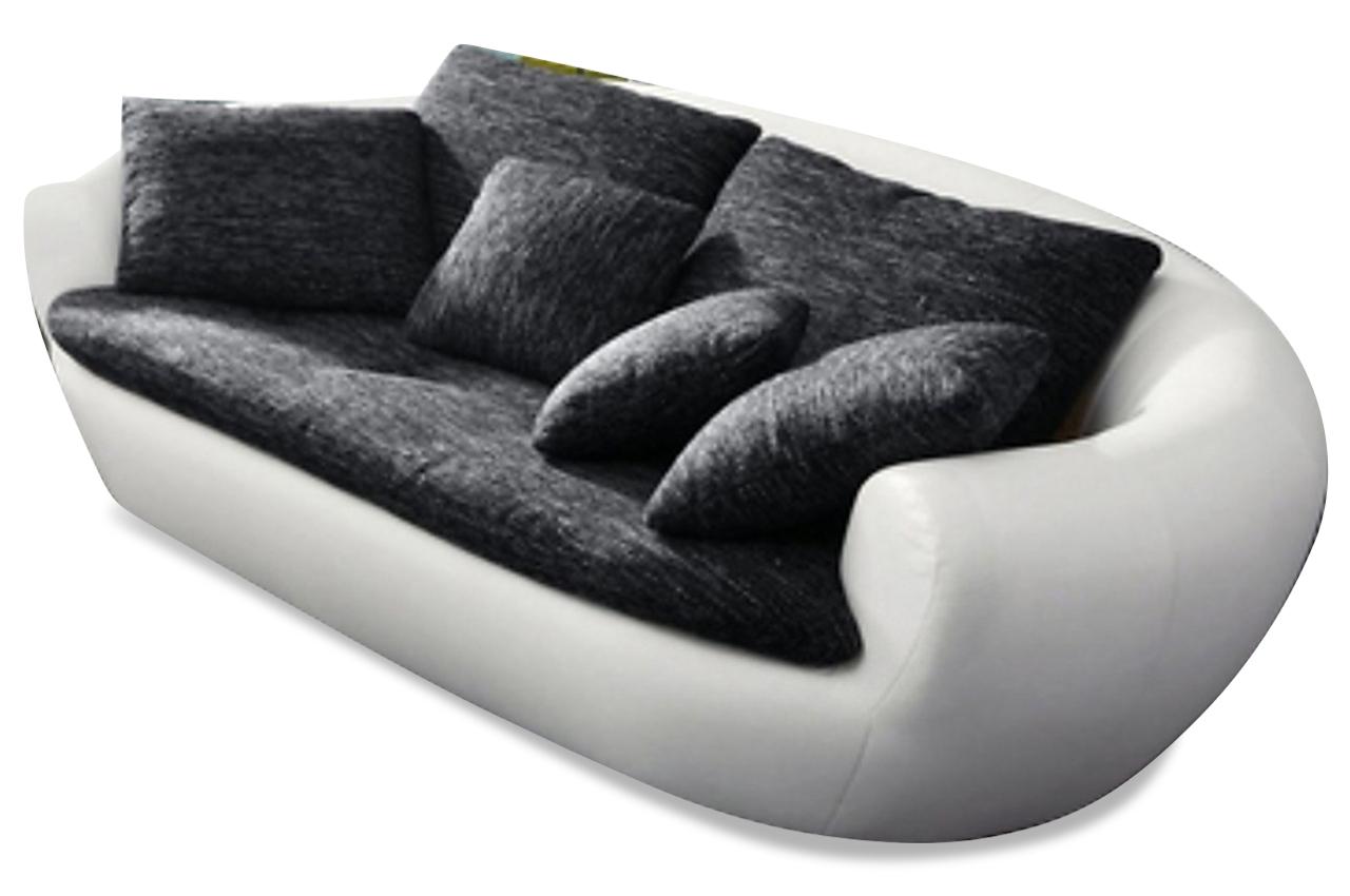 2er sofa lagoon schwarz sofas zum halben preis. Black Bedroom Furniture Sets. Home Design Ideas