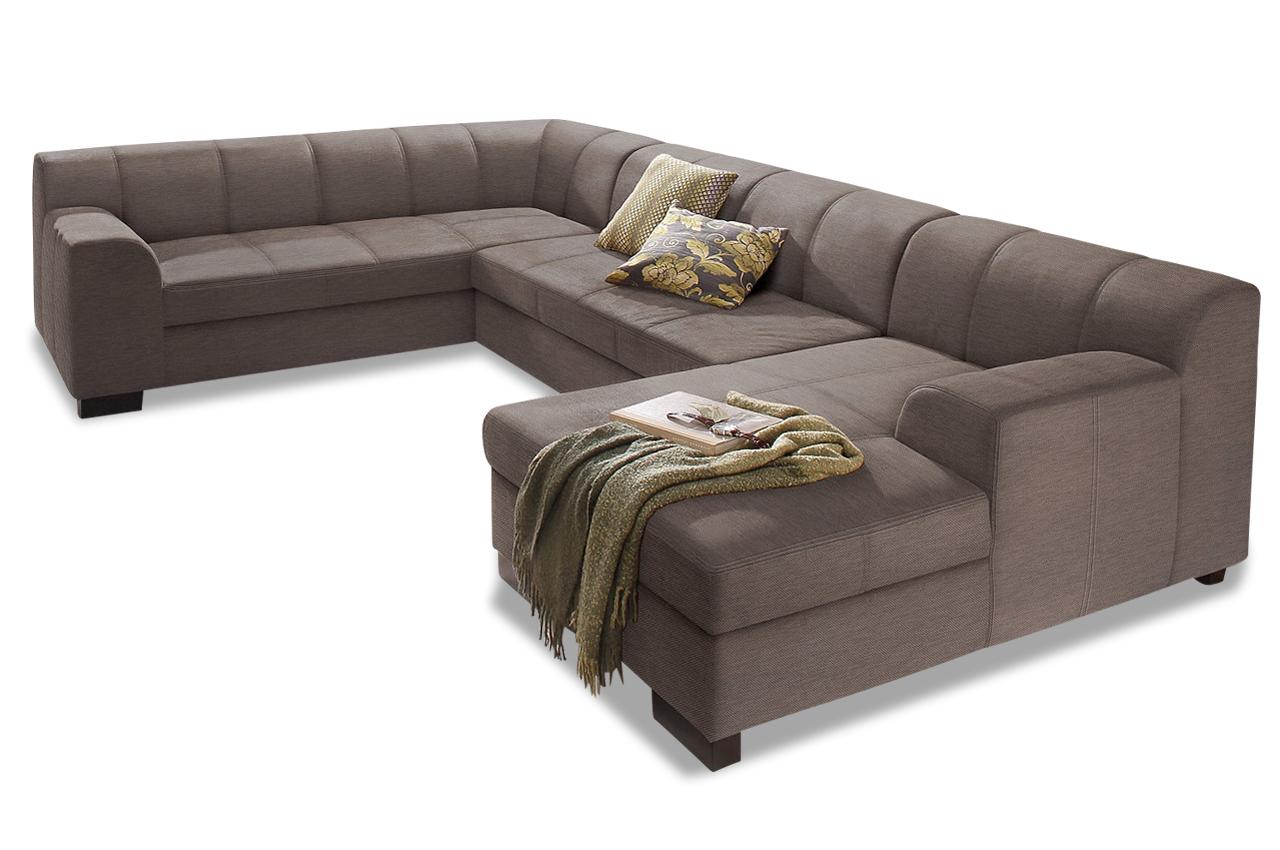 wohnlandschaft falk mit schlaffunktion braun sofas zum halben preis. Black Bedroom Furniture Sets. Home Design Ideas