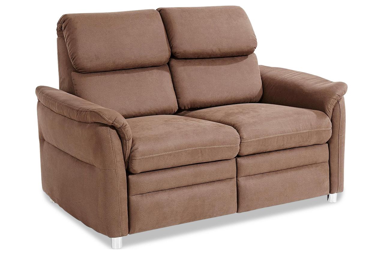 2er sofa chelsey braun mit federkern sofa couch ecksofa ebay. Black Bedroom Furniture Sets. Home Design Ideas