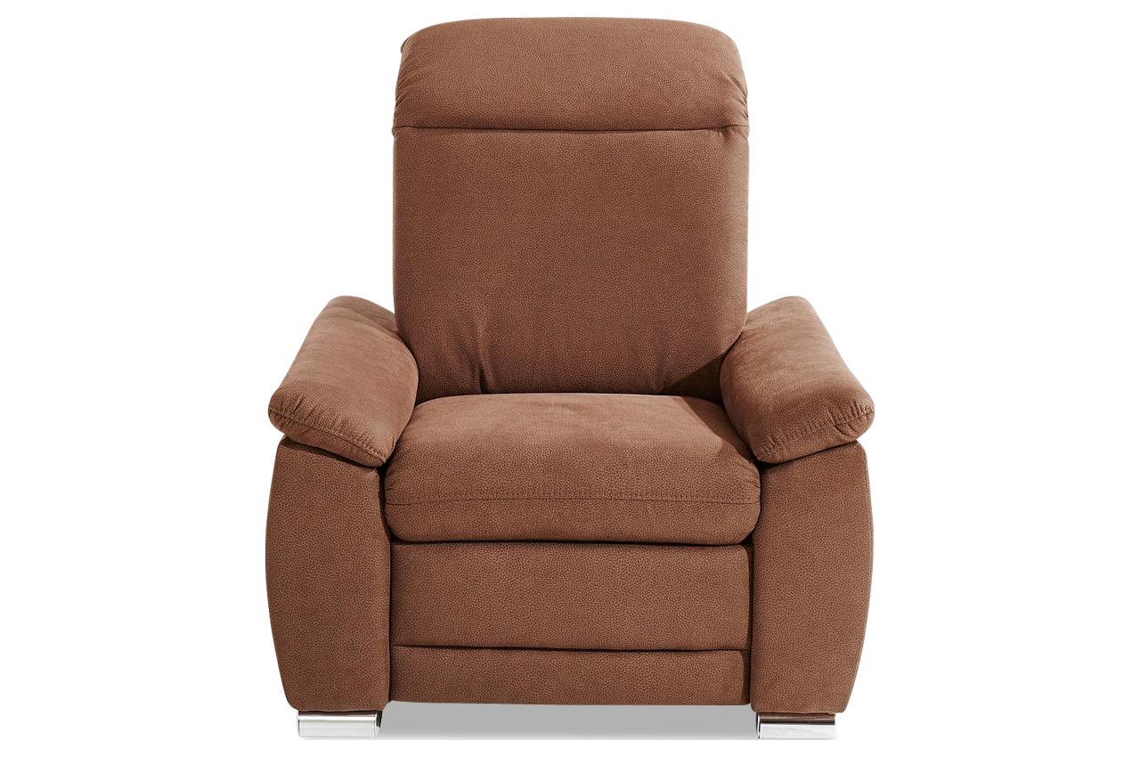 sessel braun mit federkern sofas zum halben preis. Black Bedroom Furniture Sets. Home Design Ideas