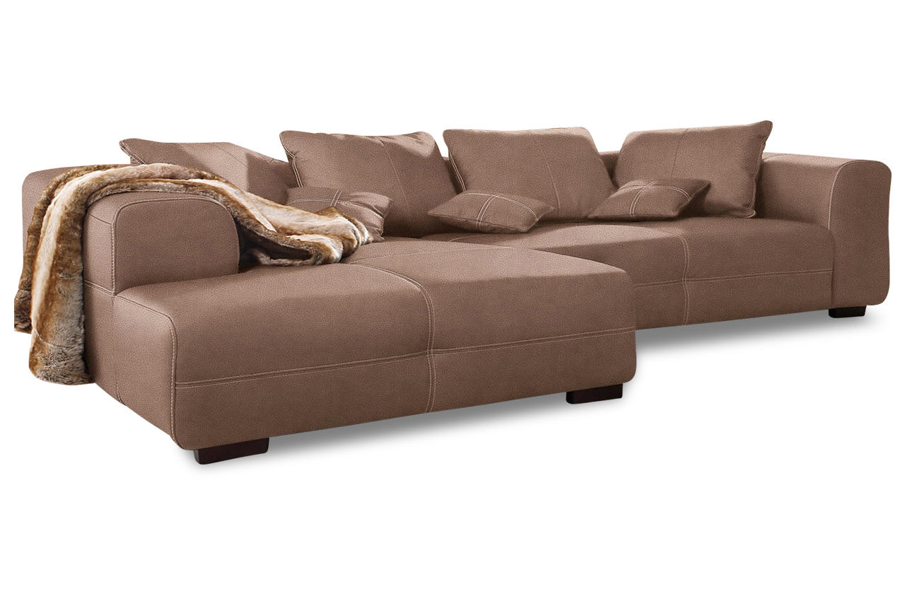 Sit more polsterecke maverick sofas zum halben preis - Braunes ecksofa ...