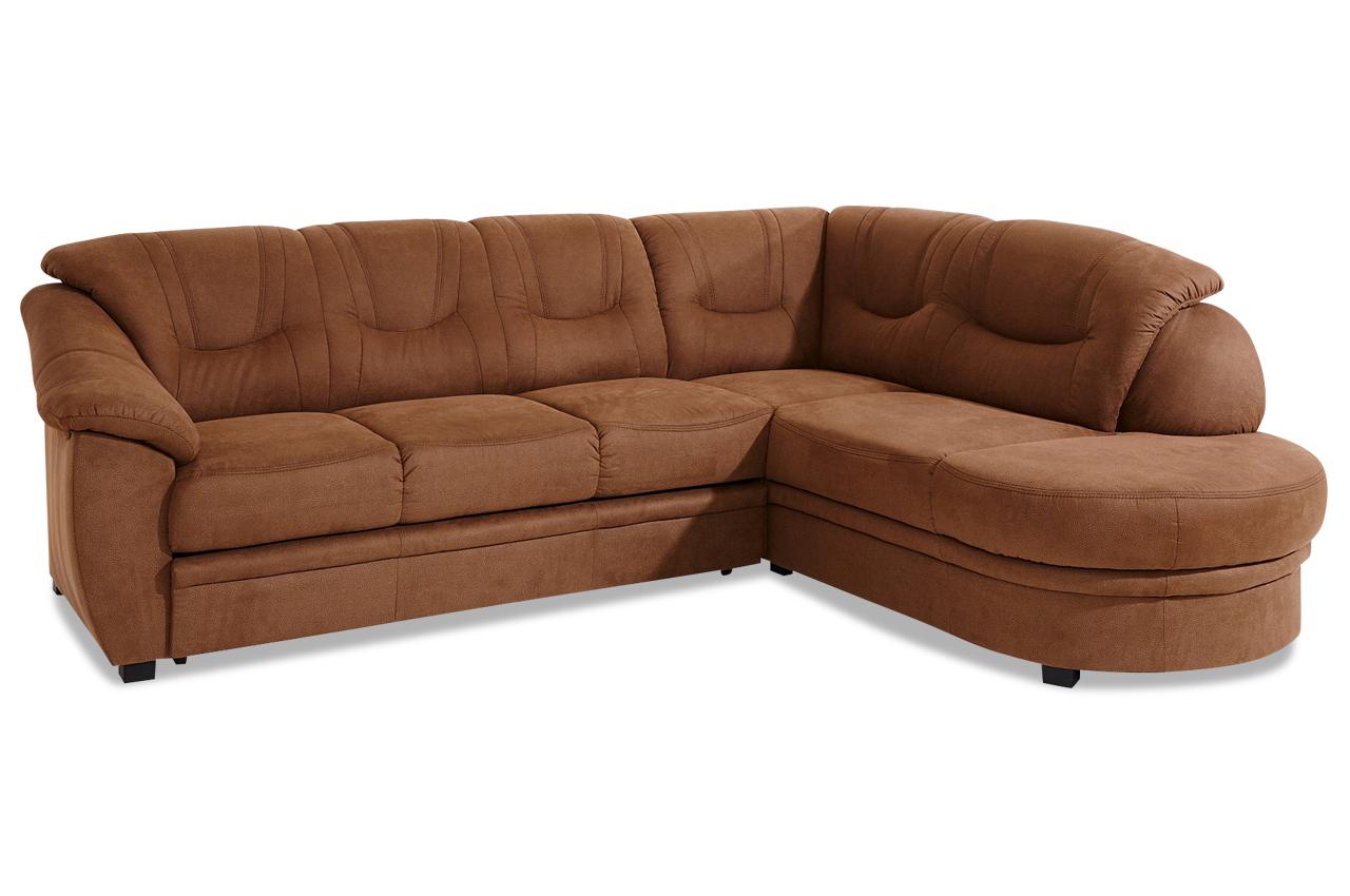 ecksofa xl braun mit federkern sofas zum halben preis. Black Bedroom Furniture Sets. Home Design Ideas