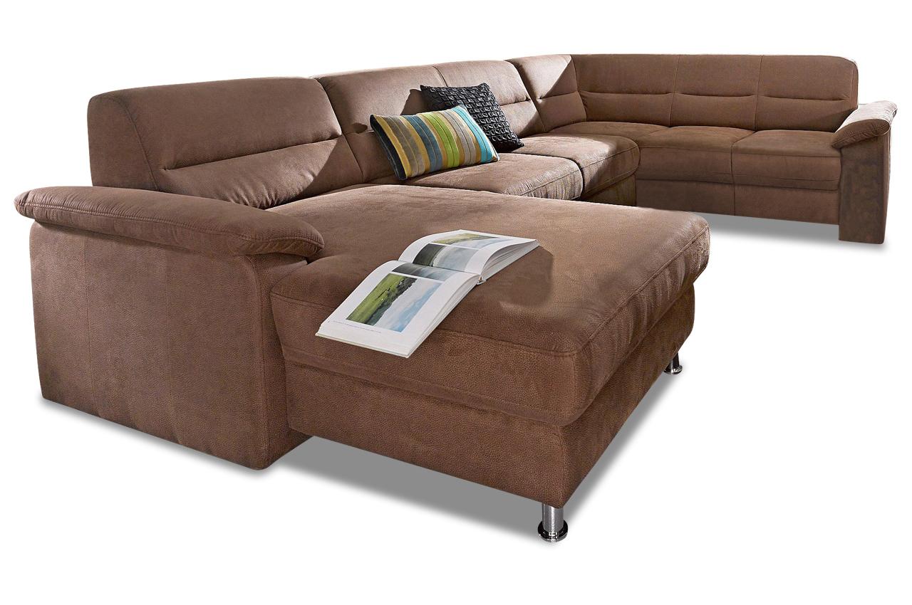 wohnlandschaft braun mit boxspring sofas zum halben preis. Black Bedroom Furniture Sets. Home Design Ideas