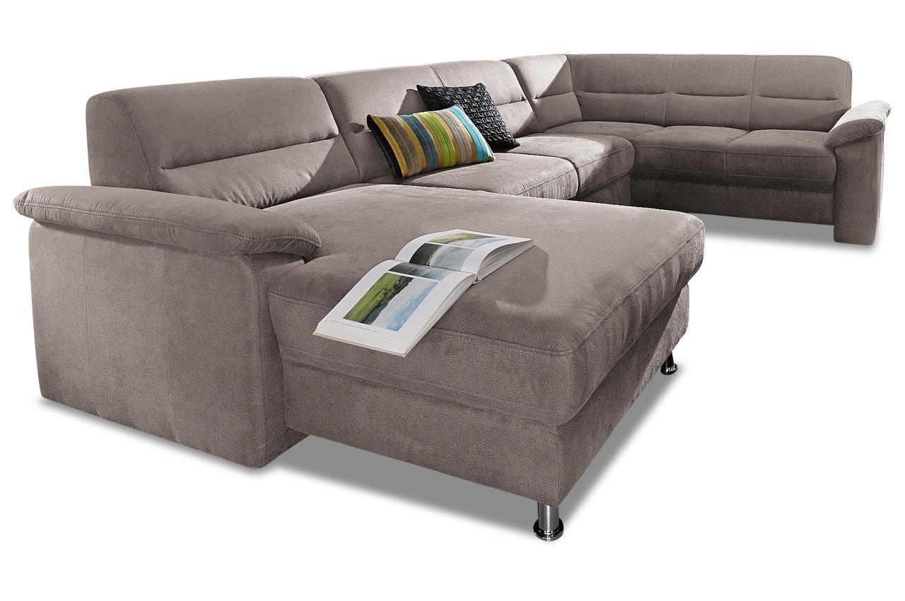 wohnlandschaft grau mit boxspring sofas zum halben preis. Black Bedroom Furniture Sets. Home Design Ideas