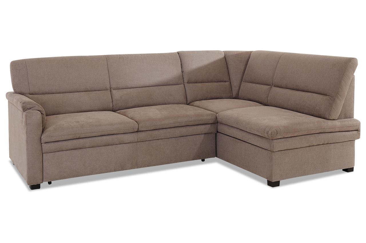 Ecksofa Xl Pisa Mit Schlaffunktion Grau Mit Federkern Sofa Couch Ecksofa Ebay