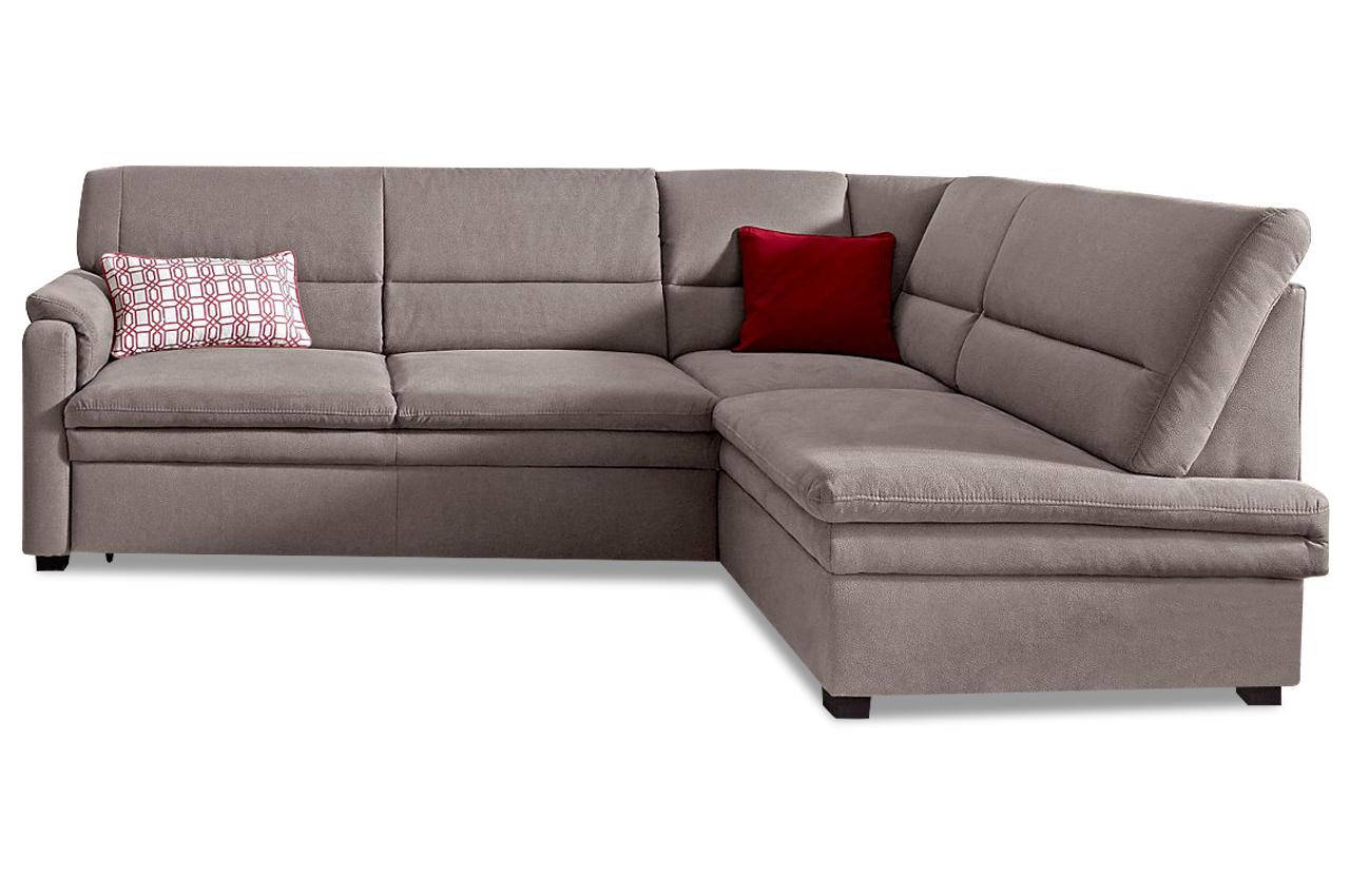 ecksofa xl mit schlaffunktion grau mit federkern sofas zum halben preis. Black Bedroom Furniture Sets. Home Design Ideas