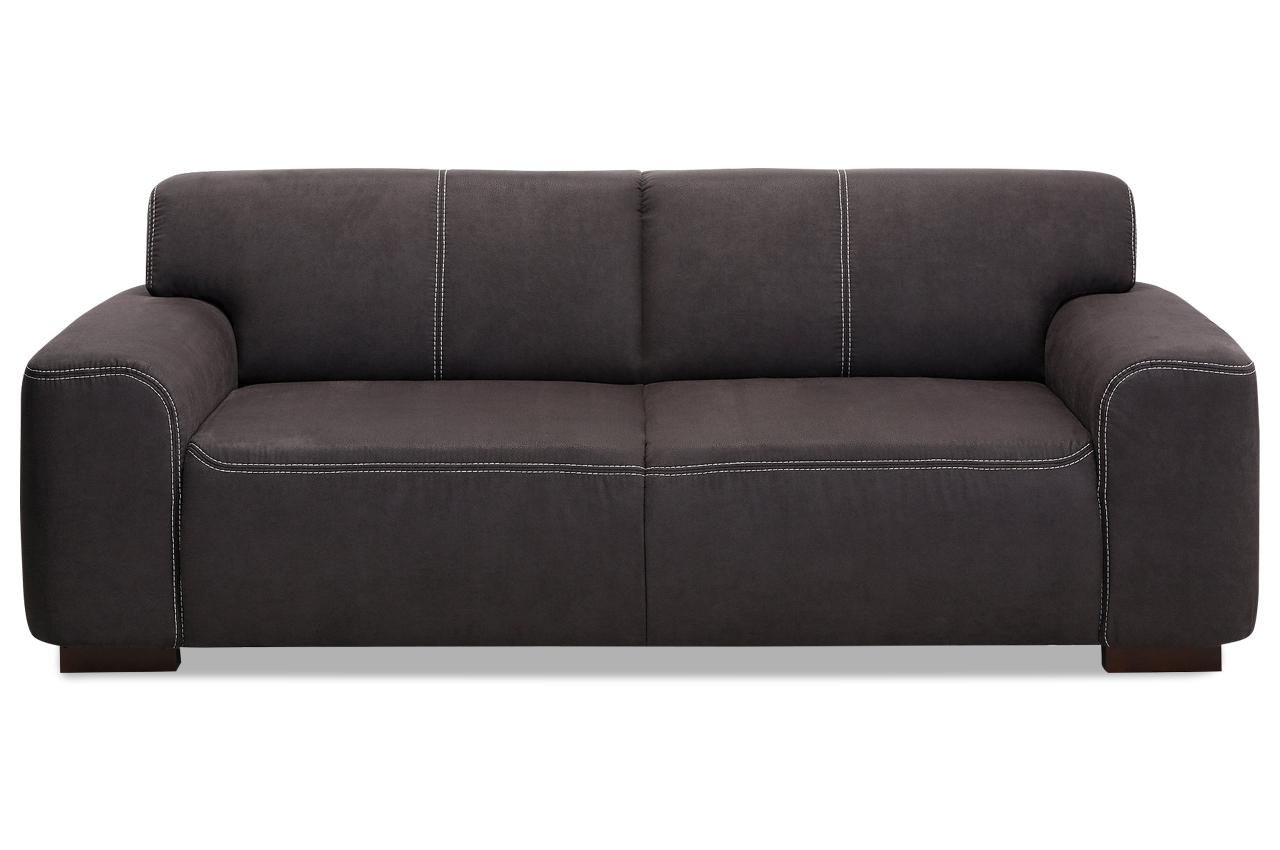 Sit more einzelsofa 3er sofa laredo sofas zum halben preis for Sofa anthrazit