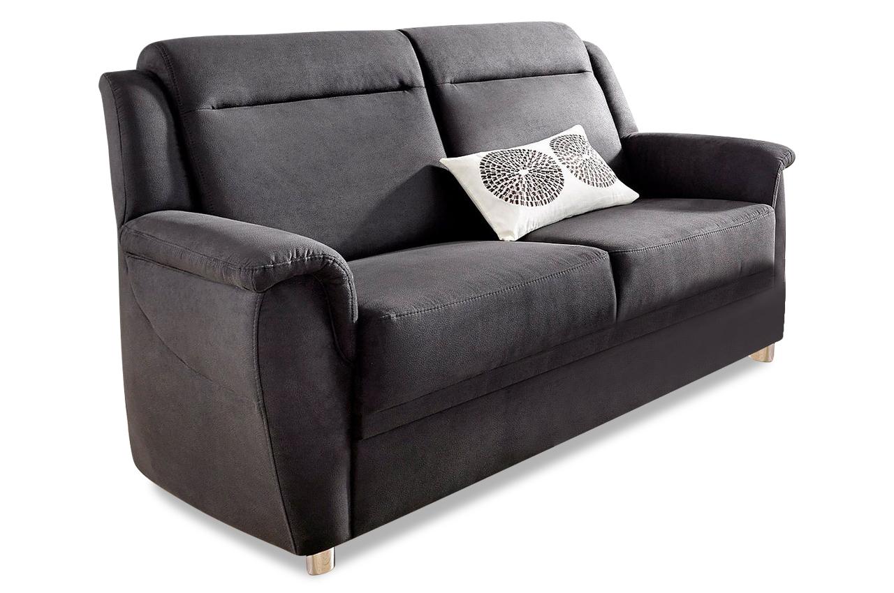 2er sofa anthrazit mit federkern sofas zum halben preis. Black Bedroom Furniture Sets. Home Design Ideas