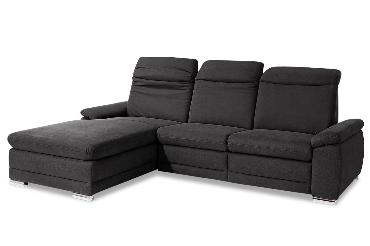 ecksofa mit relax anthrazit mit federkern sofas zum halben preis. Black Bedroom Furniture Sets. Home Design Ideas