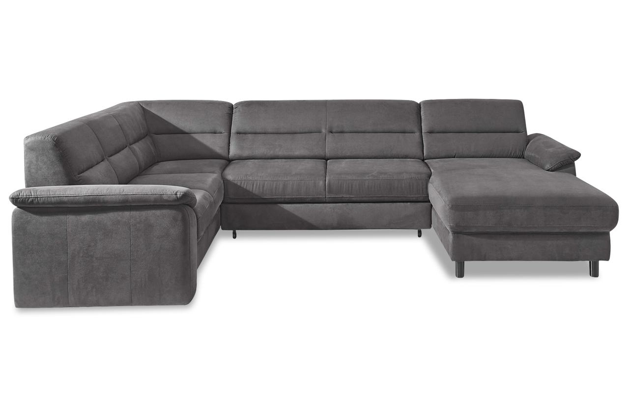sit more wohnlandschaft ascara mit bett sofas zum halben preis. Black Bedroom Furniture Sets. Home Design Ideas
