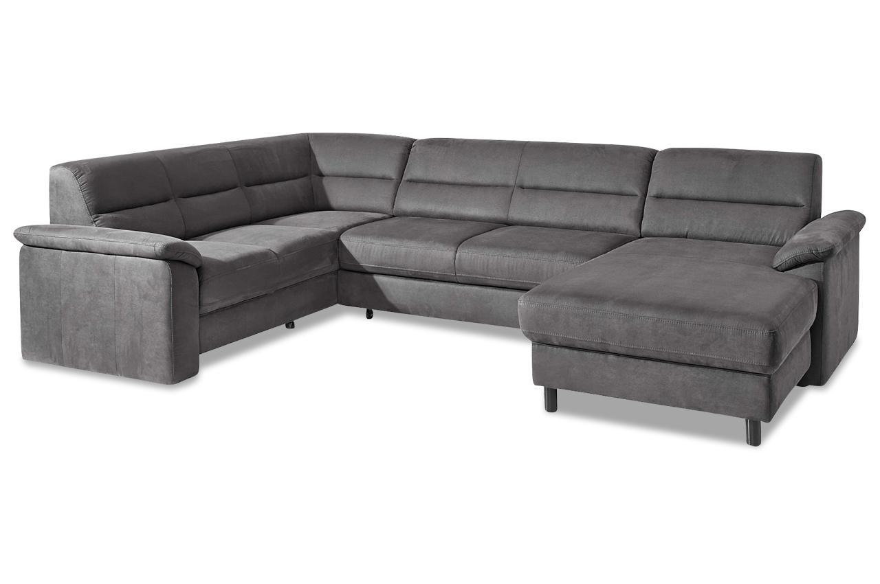 sit more wohnlandschaft ascara mit bett sofas zum halben. Black Bedroom Furniture Sets. Home Design Ideas