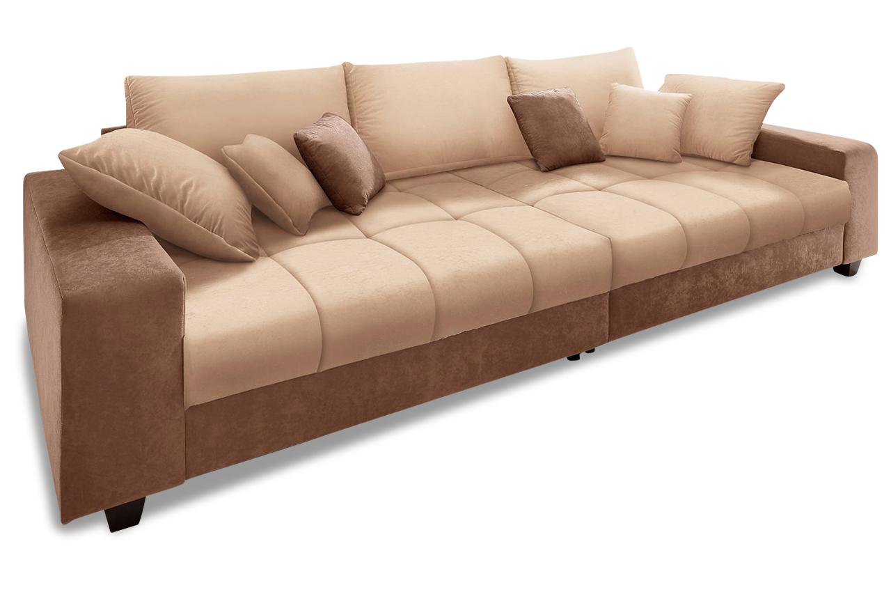 Bigsofa greenwich microfaser sofa couch ecksofa ebay for Sofa microfaser