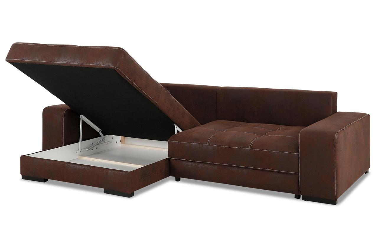 ecksofa diabolo mit schlaffunktion braun mit boxspring sofas zum halben preis. Black Bedroom Furniture Sets. Home Design Ideas