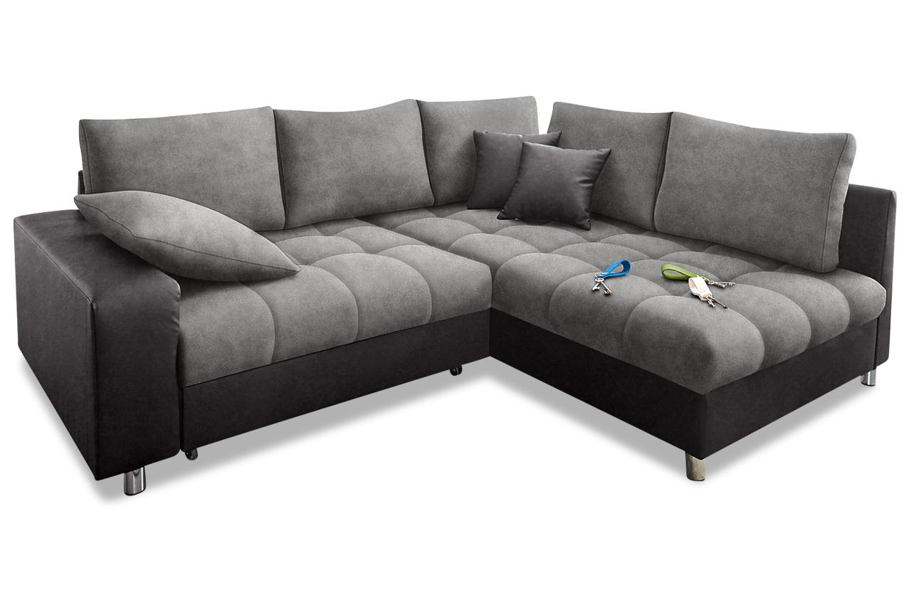 Polsterecke tobi microfaser sofa couch ecksofa ebay for Sofa microfaser