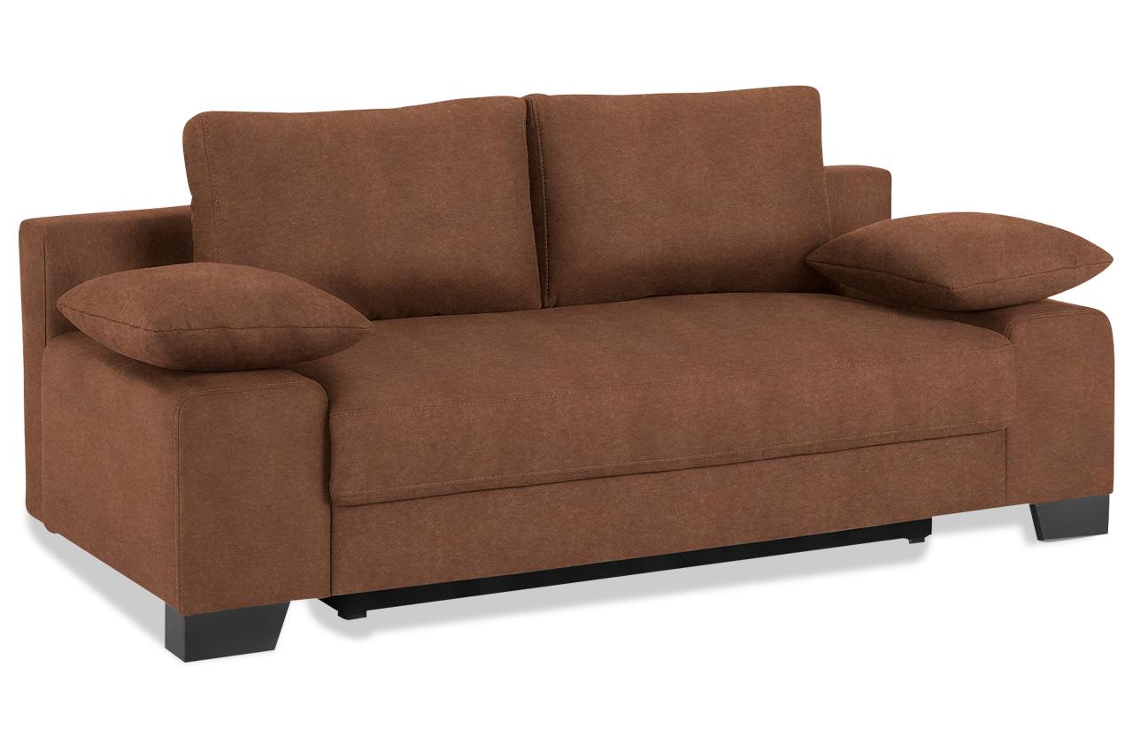 schlafsofa binz mit schlaffunktion braun mit boxspring sofas zum halben preis. Black Bedroom Furniture Sets. Home Design Ideas