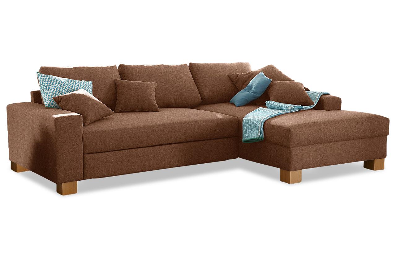 Polsterecke norden microfaser sofa couch ecksofa ebay for Sofa microfaser