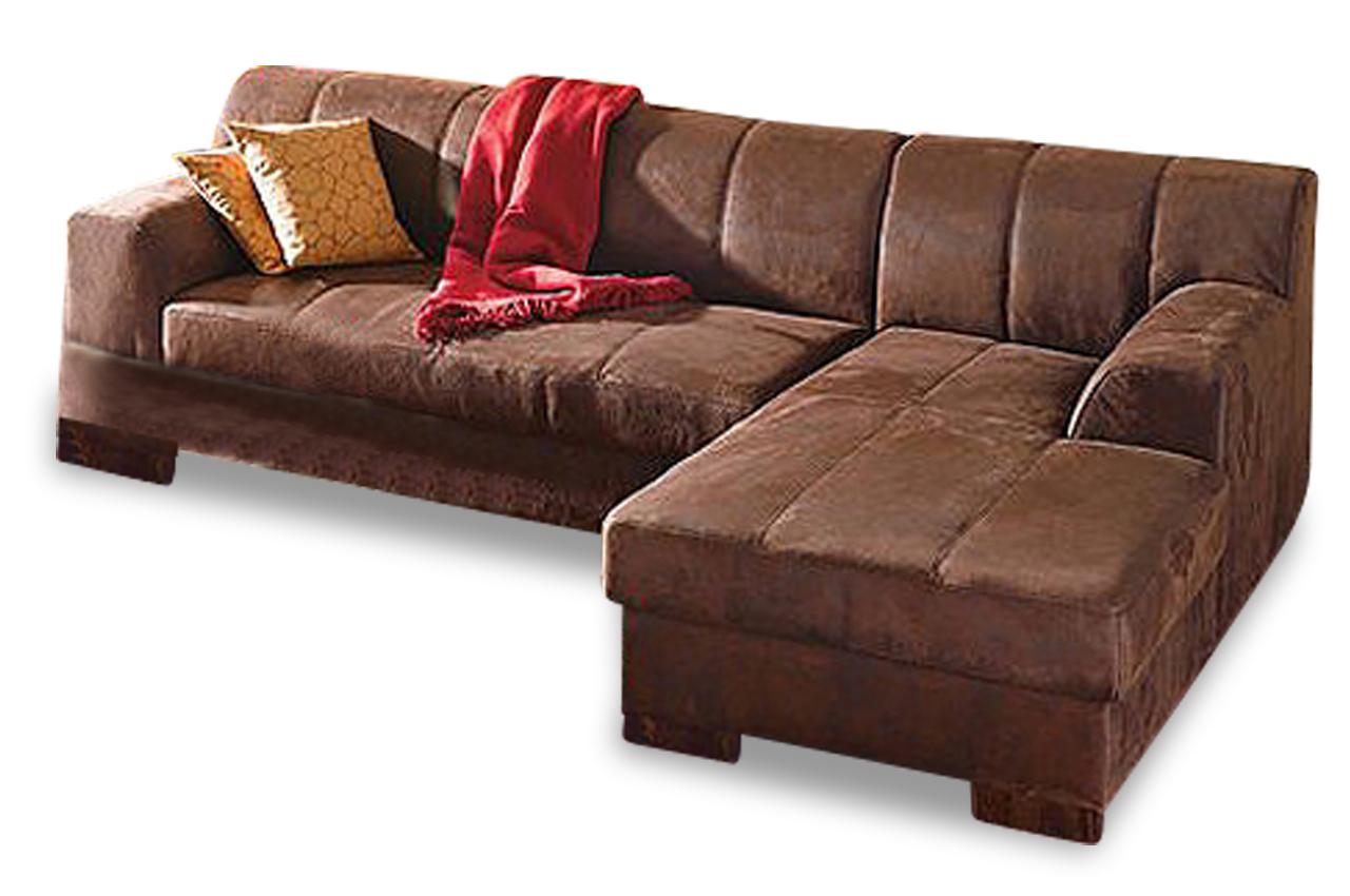 ecksofa falk mit schlaffunktion braun mit federkern sofas zum halben preis. Black Bedroom Furniture Sets. Home Design Ideas