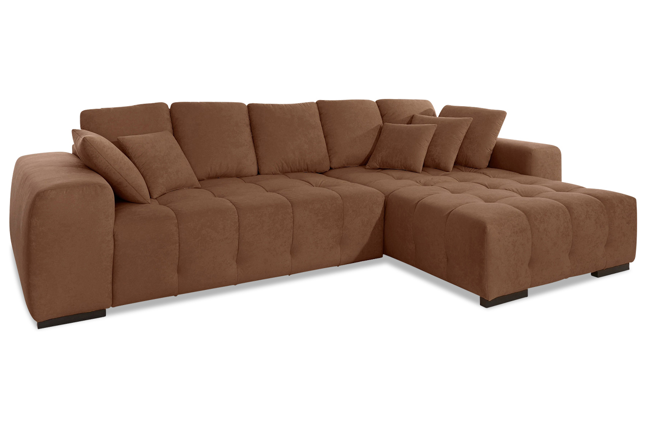 Ecksofa atlantic braun sofas zum halben preis for Ecksofa braun